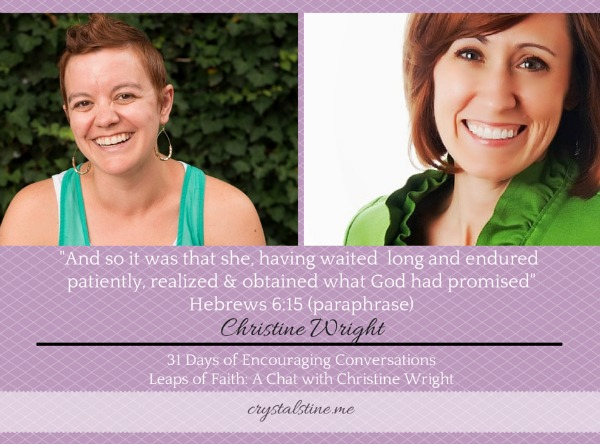 31 Days of Encouraging Conversations