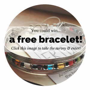 Enter to win a free Fair Trade Friday bracelet at crystalstine.me