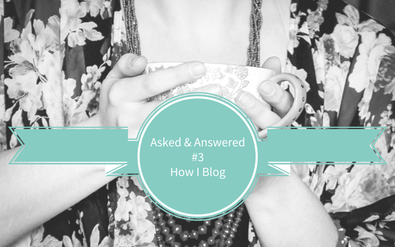 Asked & Answered #3 – Blogging, Social Media & Apps