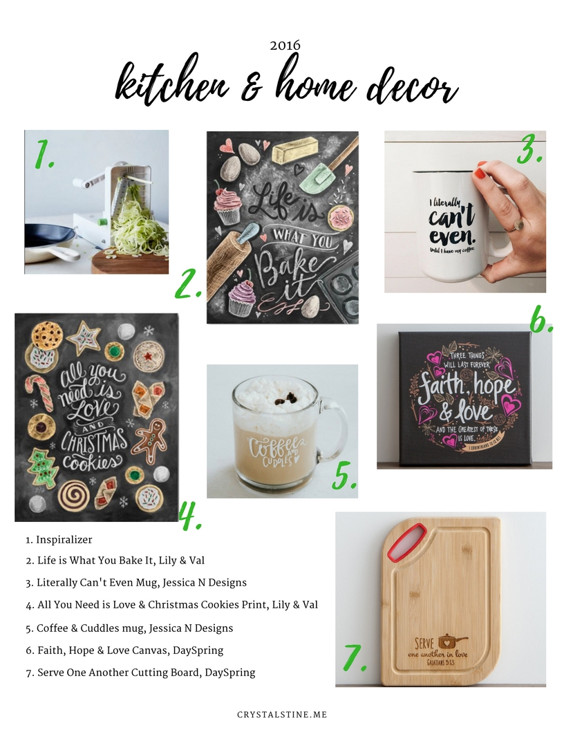 Gift Guide 3 Kitchen Home Decor Crystal Stine