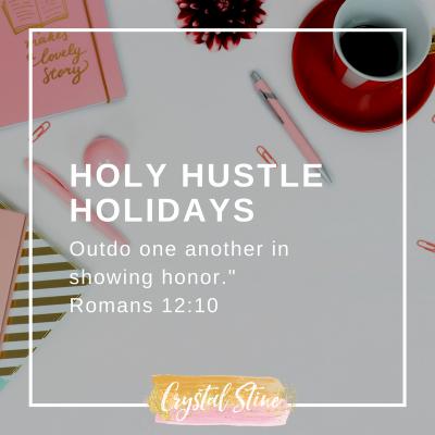 Holy Hustle Holidays: Family Stress