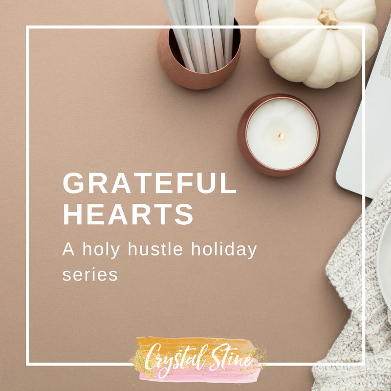 A Holy Hustle Holiday Series